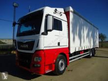 Camión MAN TGX 26.440 lonas deslizantes (PLFD) usado