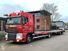 DAF XF105 trailer truck used car carrier