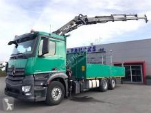 Camion plateau ridelles Mercedes Antos 2545 L