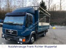 Vrachtwagen MAN L2000, ideal für Gerüstbau, erst187TKM,HU03/21 tweedehands platte bak boorden