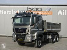 Camión MAN TGS 26.480 6x6 BL, Meiller 3-Seiten, Bordmatik volquete trilateral usado