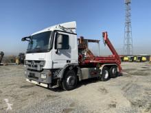 Kamión vozidlo s hákovým nosičom kontajnerov Mercedes Actros 2541 /Absetzkipper Meiller/ Euro 5