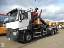 Kamión hákový nosič kontajnerov Renault C460.26 460.26