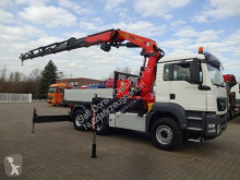 Camion platformă si obloane MAN TGS TGS 33.480 SZM abnehmbar Pri PK 42502 Seilwinde