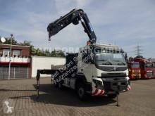 Lastbil Volvo FMX FMX 540 6x6 HYD Wechselaufbau mit Effer Kran platta häckar begagnad