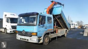 Camión Mercedes Atego 1217 volquete benne TP usado