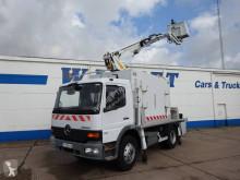 Camion Mercedes Atego 1318 K nacelle articulée télescopique occasion