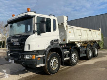 Scania P 450 truck used two-way side tipper