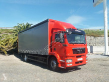 MAN tautliner truck TGM 18.250 BL