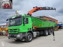 Teherautó Mercedes Actros 2544 L6x2 3-Achs Kipper Kran Funk+Greiferst használt billenőkocsi