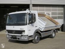 Camión Mercedes Atego 818 K 2-Achs Kipper Meiller volquete volquete trilateral usado