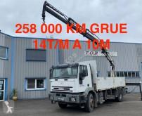 Camión caja abierta teleros Iveco Eurotech 190E34