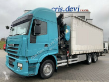Camion Iveco Stralis 260S45 Stralis 6x2 PM 22 SP | Reatrder | Euro 5 cu prelata si obloane second-hand