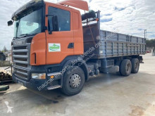 Scania R 420 truck used two-way side tipper