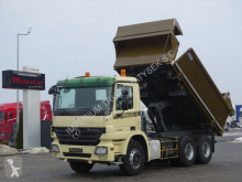 Camion Mercedes ACTROS 2636/6X4/TIPPER+CRANE HIAB 166/RADIO benne occasion