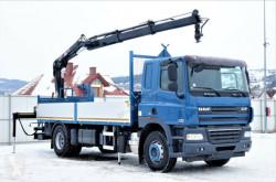 Vrachtwagen DAF CF 85.410 Pritsche 6,20 m + KRAN/FUNK ! tweedehands platte bak