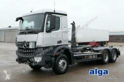 Kamión hákový nosič kontajnerov Mercedes Arocs 2636 L Arocs 6x4, Meiller RK20.67, Nur 8.500km