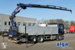 Scania dropside truck G440 6x4, Kran PM 22026SP, Funk, zusammenlegbar