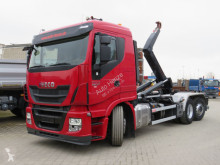 Camion Iveco Stralis 260 S 42 Abrollkipper Deutsch, Lenk+Lift multiplu second-hand