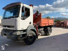 Camion benne Renault Kerax 320 DCI Dumper truck with crane