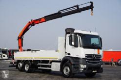 Ciężarówka platforma MERCEDES-BENZ ANTOS / 2545 / E 6 / 6 X 2 / SKRZYNIOWY + HDS