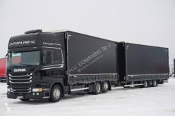 Scania R 450 / ACC / E 6 / ETADE / ZESTAW PZEJAZDOWY + emoque ideaux coulissants truck used tautliner