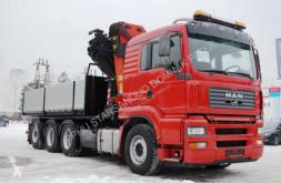Camion MAN 35.480 PALFINGER PK 44002 G WINDE FUNK Seilwinde plateau occasion