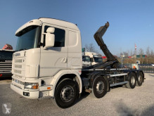 Scania R124-470 R124.470 8x2 truck used hook lift