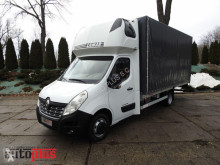Ciężarówka Plandeka Renault MASTERPLANDEKA WINDA 10 PALET KLIMATYZACJA WEBASTO TEMPOMAT PNE