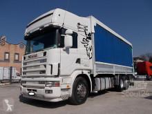 Kamión Scania R Scania - SCANIA R 164-580 MANUALE RETARDER CENTINATO 7.30 - Centinato alla Francese valník s bočnicami a plachtou ojazdený