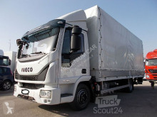 Camión Iveco Eurocargo Iveco - EUROCARGO 75E16 2017 CENTINATO PEDANA EURO 6 - Centinato alla Francese lona corredera (tautliner) usado