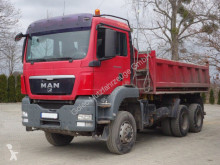 Camion MAN TGS 26.400 6x6 EURO5 Dreiseitenkipper TOP! benă trilaterala second-hand