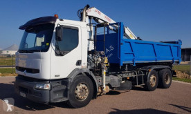 Renault Premium 370 DCI truck used three-way side tipper