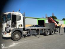 Camión Scania G 124G420 caja abierta estándar usado