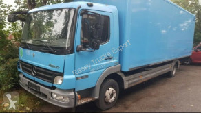 Mercedes Atego 816 Koffer, Automatik, EURO-5, Blatt-Blatt, LBW truck used box