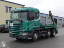 Portacontenedor de cadenas Scania 124 420*Retarder*Hydraulik*Standhe