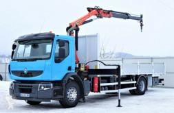Ciężarówka platforma Renault Premium 310 DXI Pritsche 7,80m+Kran/Funk