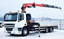 Camión caja abierta DAF CF 75.310 Pritsche 7,30 m + KRAN/FUNK !
