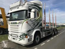 Kamión Scania R 580 súprava na odvoz dreva ojazdený