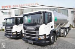 Camion cisterna trasporto alimenti Scania P 410