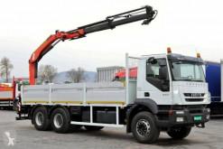 Camión caja abierta teleros Iveco Trakker 260 T 36