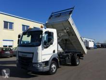 Camión volquete volquete trilateral DAF LF 210*Euro 6*TÜV*Schalter* 7,5tonner*orig. KM