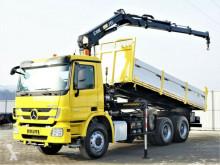 Ciężarówka platforma Mercedes Actros 2641 Kipper 5,90m+ Kran/FUNK*6x4*