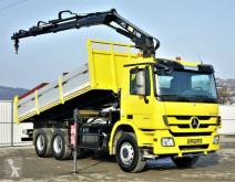 Mercedes tipper truck Actros 2641 Kipper 5,90m+ Kran/FUNK*6x4*