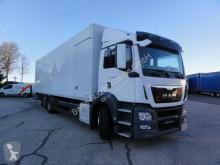 MAN box truck TGS26.400 6x2-4LL Lenkachse Intarder Koffer 9,77