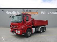 Camion Mercedes 2646, 6x4, Meiller 3-Seiten-Kipper, EUR 5 tri-benne occasion