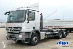 Camión Gancho portacontenedor Mercedes Actros 2636 L Actros 6x2, Meiller RK20.67, Lenk-Lift