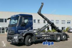 Camión Gancho portacontenedor Mercedes Arocs 2640 L Arocs 6x2, Meiller RK20.67, euro 6