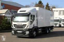 Iveco Stralis 460 E6/Schlafkabine/ISO-Koffer/Len truck used box