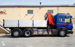 Camión volquete Scania 340 6x2 VOLQUETE PALFINGER PK 20002 AÑO 2007